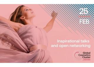 全球化妝品集群:鼓舞人心的演講和開放式網絡,邀請台灣麗谷會員們趕快手刀報名參加